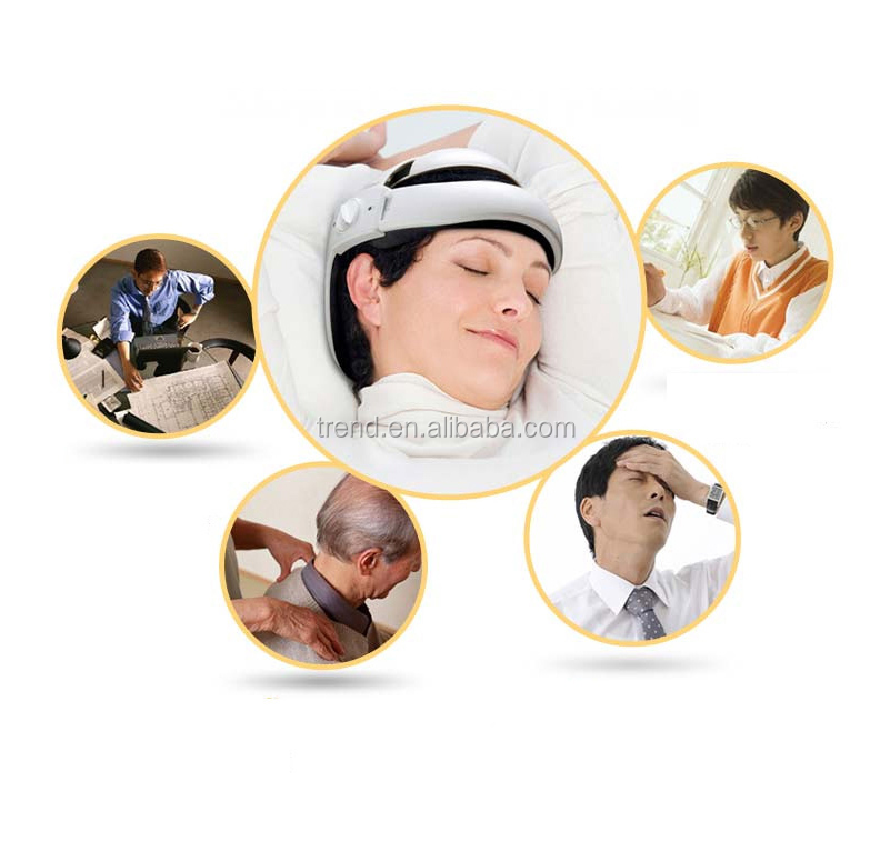 electric head vibration with airbag Massager