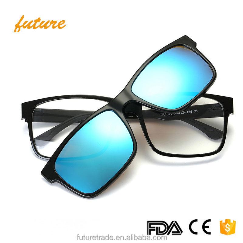 J1641 المصممين ظلال الرجال النساء نظارات شمسية عالية الجودة النظارات الشمسية المستقطبة أزياء ريترو الرياضة الاستقطاب كليب على النظارات الشمسية