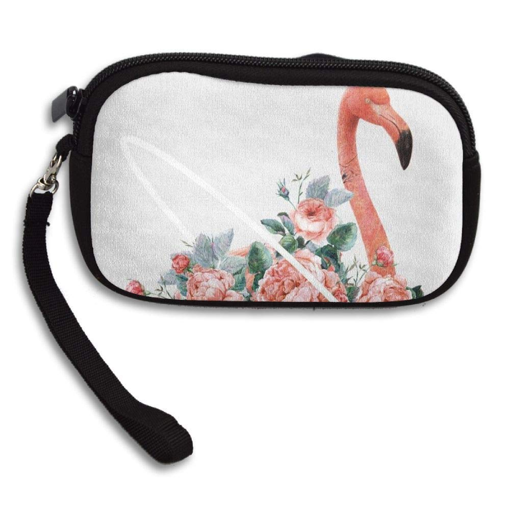 WCVRUT Unisex Clutch Wallet For Woman Ladies -Pink Flamingos Long Purse Bag Men Gentlemen