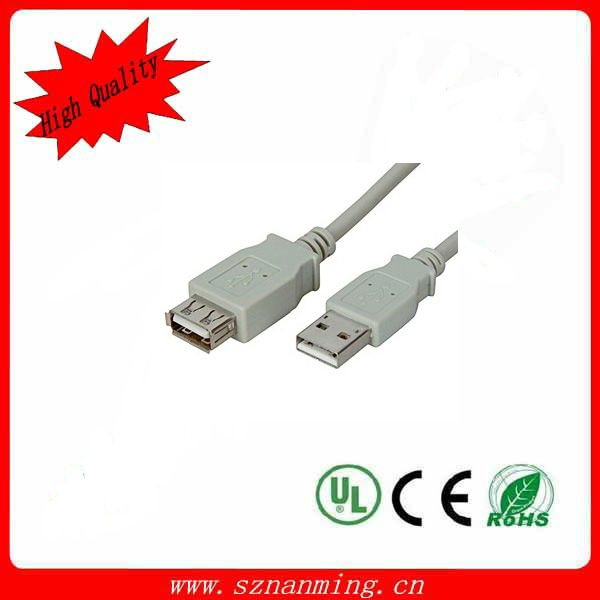 dual usb a male to female