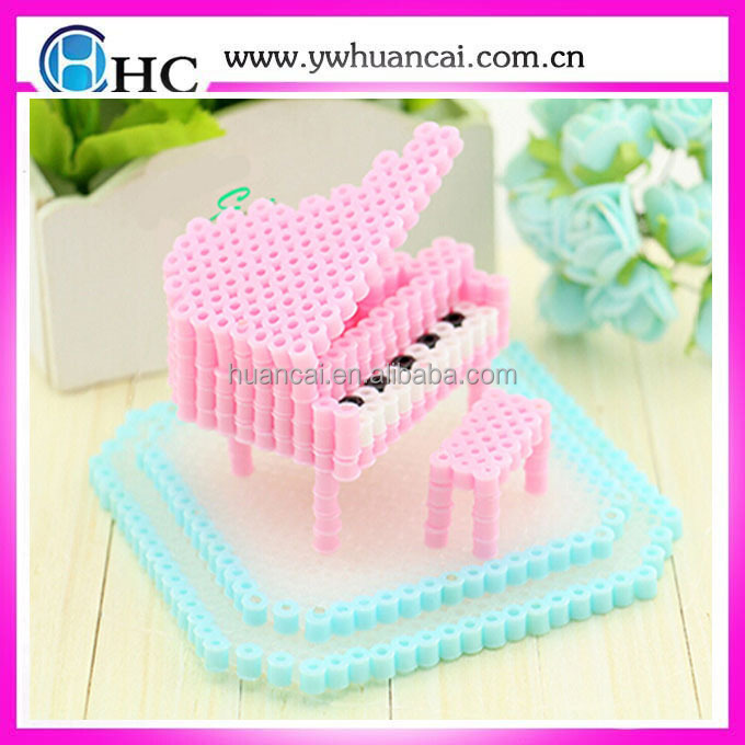 Piano shaped perler beads/hot diy kids toys plastic beads