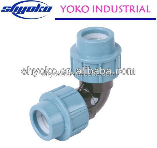 Factory high quality PP coupling fittings Pipe Fittings quick connect water hose fittings