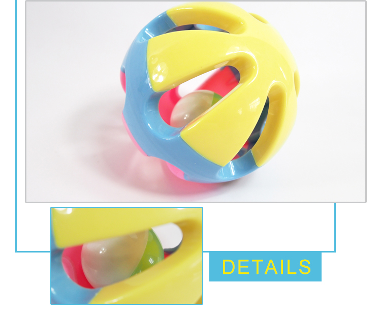 wholesale toy from china rattle baby rolling bell ball set for gym
