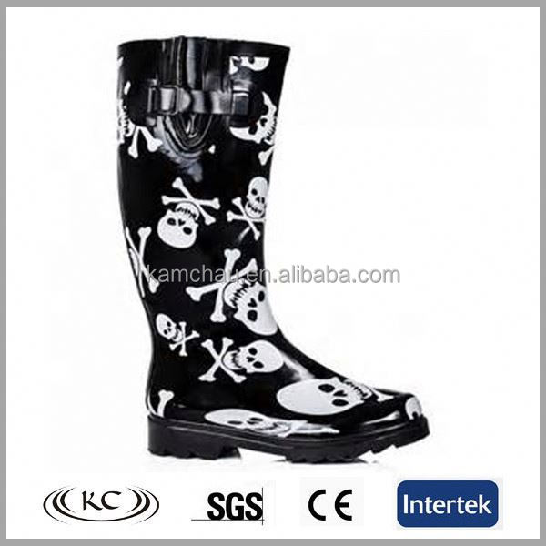 Rain Boots With Skulls, Rain Boots With Skulls Suppliers and ...