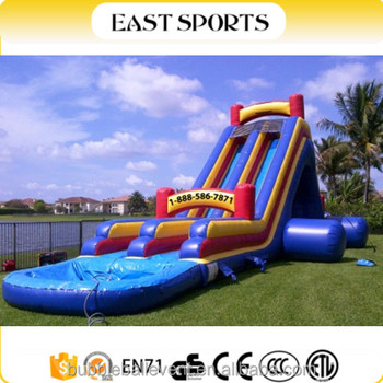 Good Quality Giant Inflatable Water Slide For Adult / Used ...