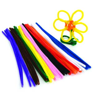 Colorful Hand Craft Chenille Stem pipe cleaners