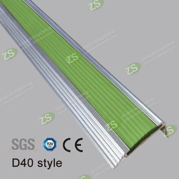 Cheap Price Anti Slip Curved Aluminum Stair Nosing For Vinyl Floor