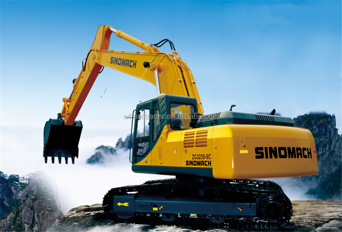 ZG3365LC-9C SINOMACH 37 Ton mining excavator made in china sale price in pakistan