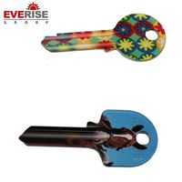 Hot Sale High-Quality Custom Design Faction Color Blank Key
