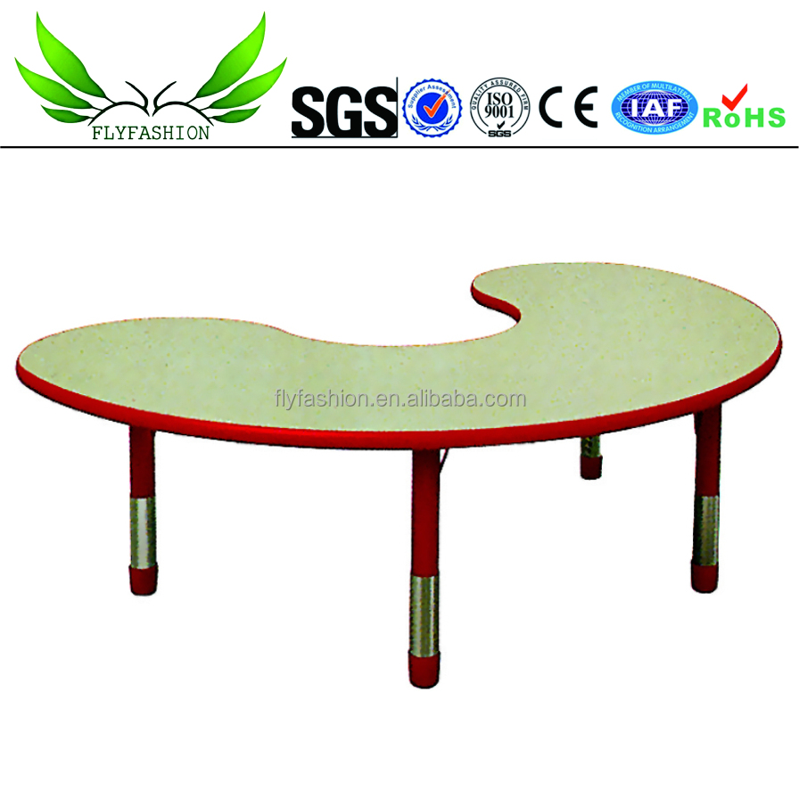 New Design Fashion Kindergarten Furniture Wood Folding Table Chairs