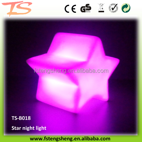 2017competitive price color Changing LED supply Star Baby Kid Mood Lamp Night Light