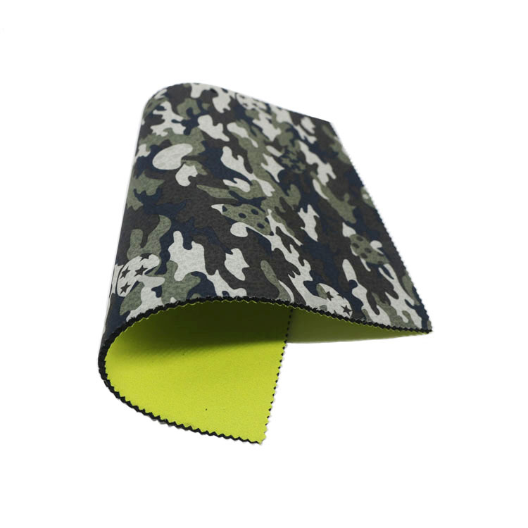 Wholesale 2mm 3 mm 5mm camo neoprene rubber sheet fabric for wetsuit