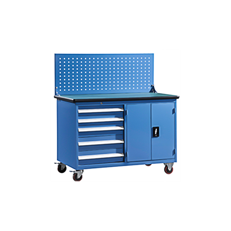 Portable Steel Workbenches with Drawers