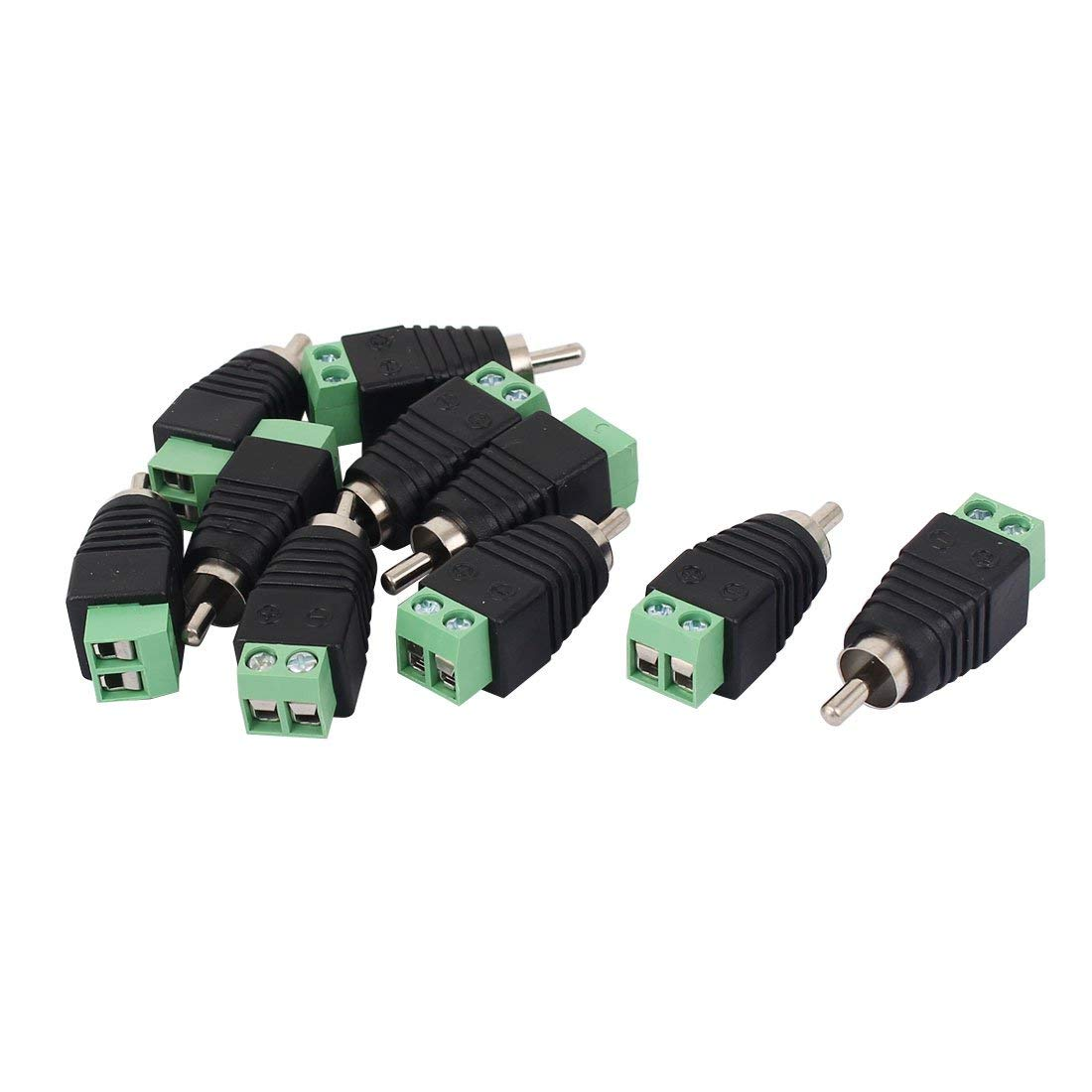 Cheap Cat6 Connector Find Deals On Line At Alibabacom Wiring Ftp Cat5 Cat5e Solid Cable China Get Quotations Uxcell 10pcs Utp To Av Phono Rca Male Jack For Cctv