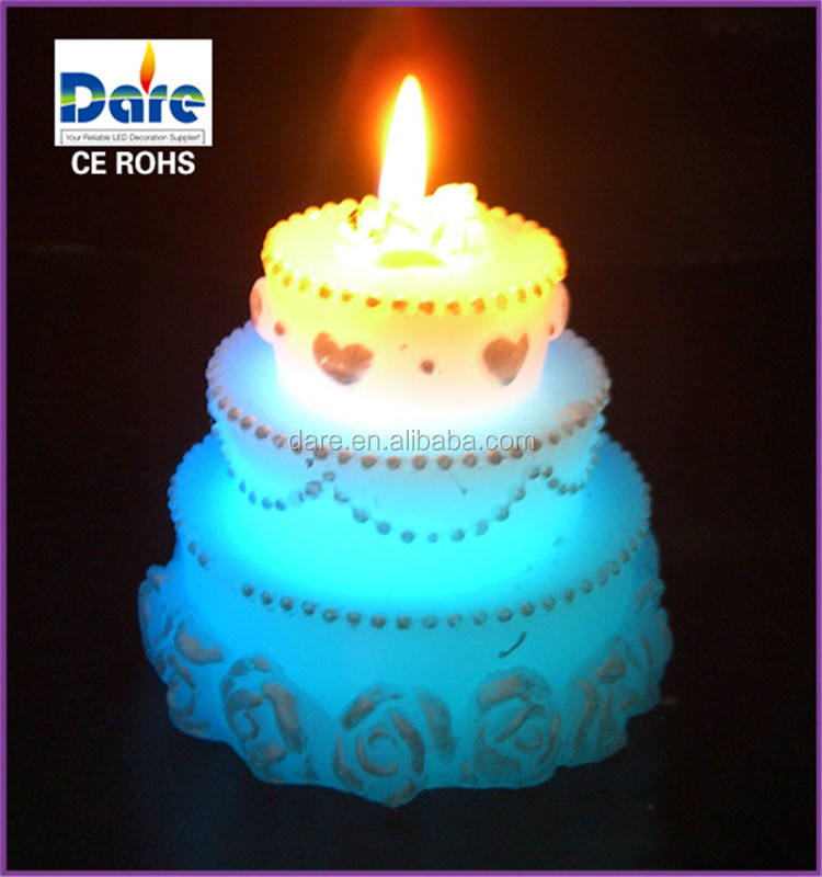 Indoor Birthday Cake Shaped Sparkler Candles