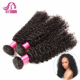 Hot Selling New Products 7A Grade Kinky Curly Virgin Peruvian Hair, Cheap Virgin Brazilian And Peruvian Hair Bundles