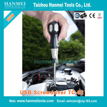 New Style kraft tech hand tool set klein tools kitchen screwdriver 3.6V USB Cordless Rechargeable TC-02