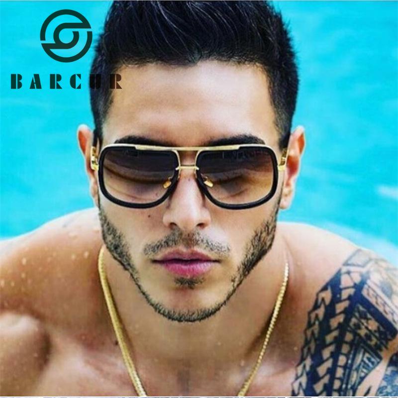 390a848c82a6 Wholesale Brown Gradient Sunglasses Men Top Designer Brand ...