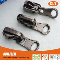 Made in China new product multifunctional double pull metal zipper slider for sale