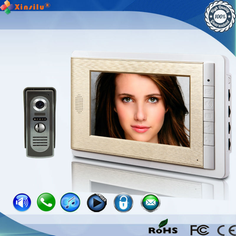 High quality apartment building intercom system with front door camera