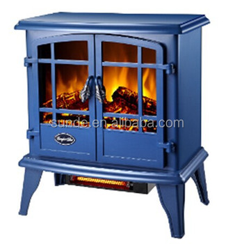 Blue Electric Fireplace Heater - Buy Fireplace Blower Heater,Decor ...