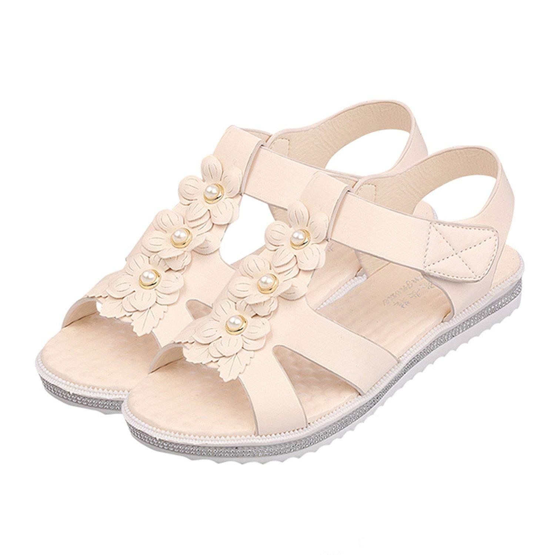 6d79c09b91d5 Luck Man Women Summer Casual Bohemia Flat Sandals Shoes Woman Flower Flip  Flop Sweet Beach Sandals
