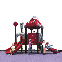 Top Quality Children Outdoor Playground Slide Swing Set Playground Toy