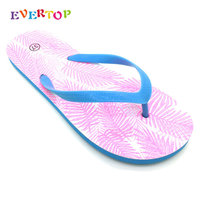 EVERTOP 2018 China Hot Selling Summer Fashion New Design Women Flip Flops