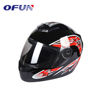 OFUN China Promotional Fashion Motorcycle Full Face Casque Moto Helmet