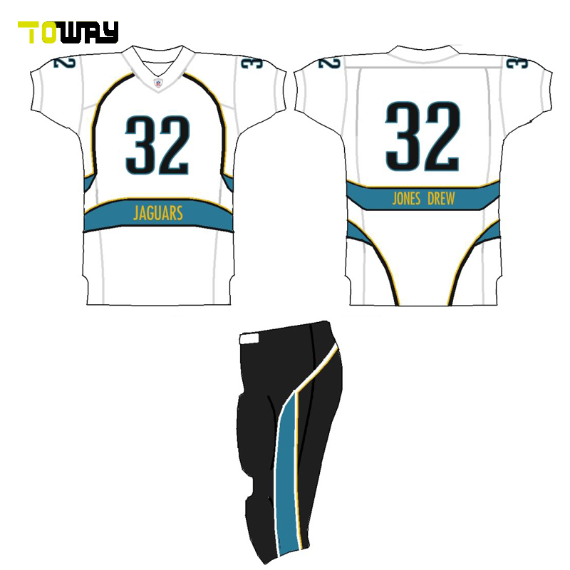 sublimated american football jerseys set manufacturers