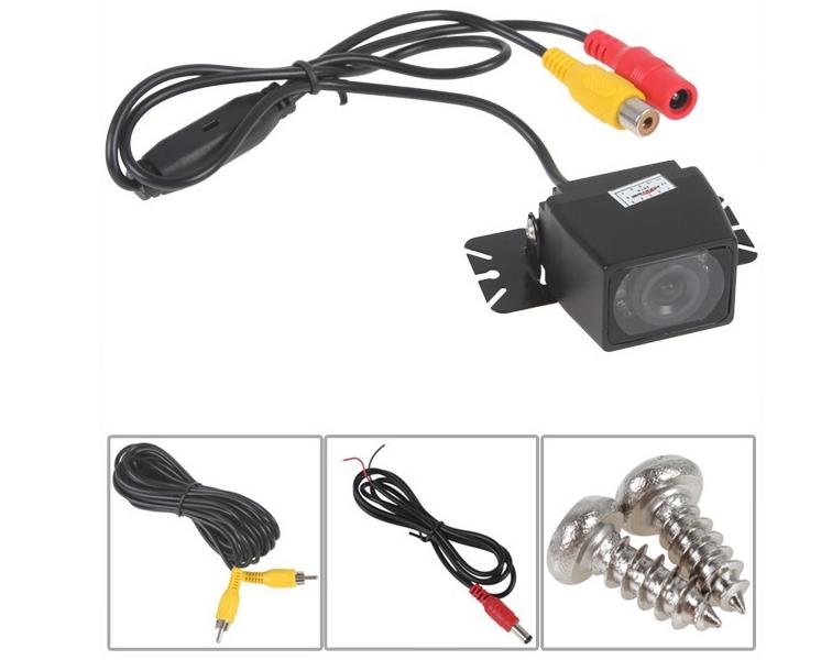 E327 9 LED Waterproof Color CMOS/CCD Car Rear View Reverse Backup Camera