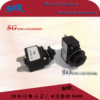 Thermal Overload Protector Electric Motor Circuit Breaker