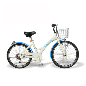 24&26Aluminum alloy/high quality/city/anti-theft rust/stab-resistant tire/lease/bluetooth lock/OEM/share bicycle public bike