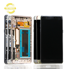Hot sell Original quality for Samsung mobile phone Touch screen for Samsung Note7 Note FE LCD N930 N930F Display With frame
