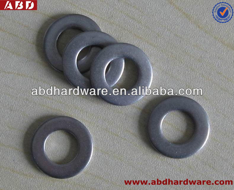 stainless flat washer DIN 125A