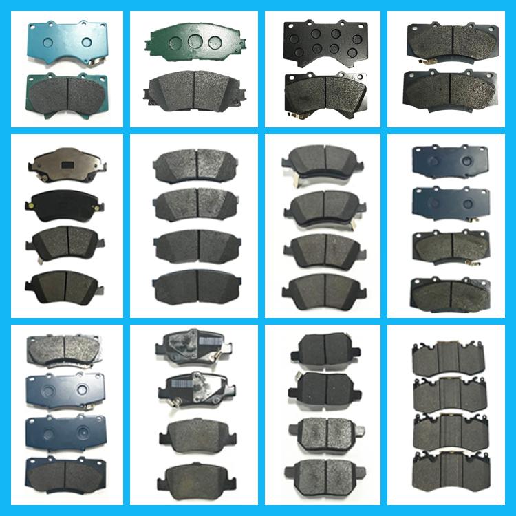 Echt Auro Onderdelen OEM 04465-60360 Voorrem Pad Set Voor Verkoop