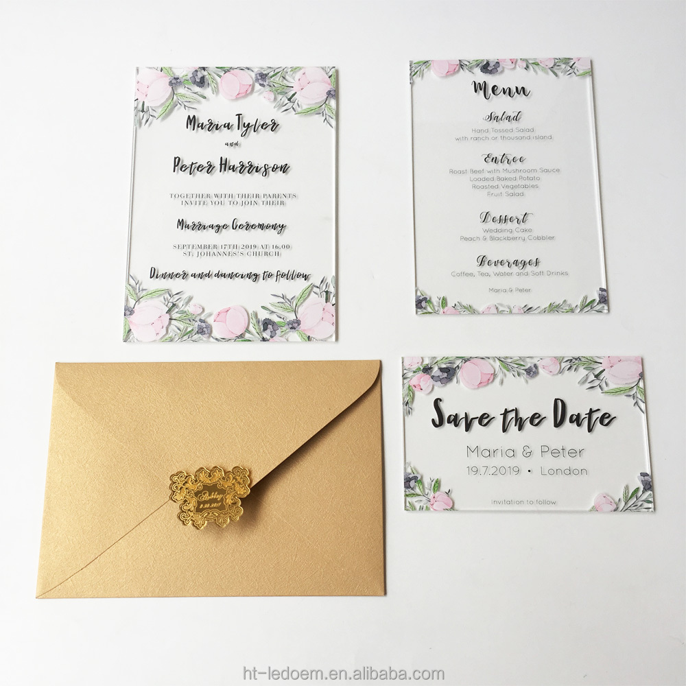 Watercolor Wedding Invitations Wholesale, Invitations Suppliers ...
