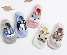 Newborn baby antiskid stockings, spring and autumn, baby and baby cotton padded cartoon socks kid sock