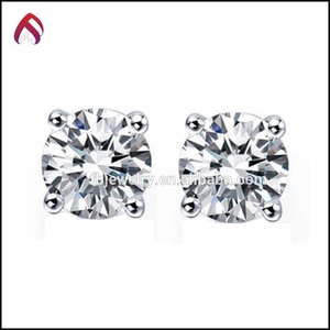 2c82d84a0 China earring silver cz studs wholesale 🇨🇳 - Alibaba
