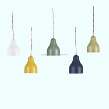 colorful dining room living room decor fancy modern Nordic Northern Europe design factory wholesale hanging drop pendant light