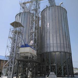 Used farm 100ton corrugated galvanized sand silos for sale agriculture industry