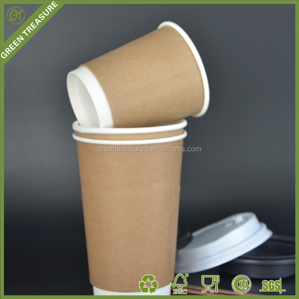 Hot Sale Paper Coffee Cup8oz 10 oz 12 oz 16 oz Craft Paper cup Double wall ,Single wall Style Paper cup