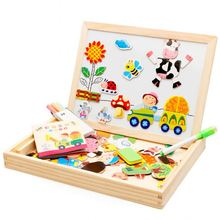 Groothandel kid <span class=keywords><strong>houten</strong></span> spel puzzel custom baby interessante educatief speelgoed 3d <span class=keywords><strong>magnetische</strong></span> <span class=keywords><strong>houten</strong></span> puzzel
