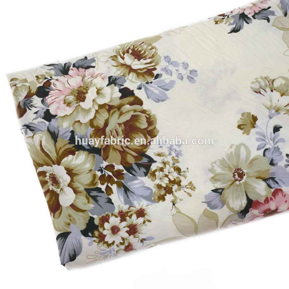 2018 Baru Tiba 100% Besar Mawar Bunga Kain Katun Twill untuk Sprei Sarung Bantal, patchwork Kapas Jaringan Rumah Tekstil Tenun