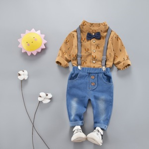 4b0b1a99532 China factory direst sale designing applique baby boy clothes made in china