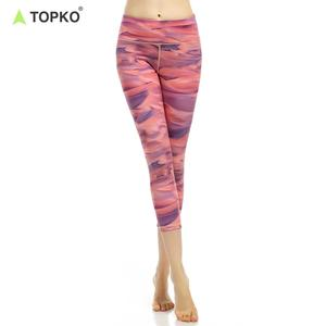 TOPKO Wholesale Private Label Fitness Wear Compression Leggings
