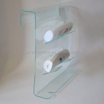 Ha1403023044 Shower Caddy Acrylic Bathroom Shelf Lucite Accessories
