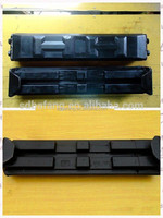 Reasonable priced Steel plate reinforcement construction machinery rubber track pad