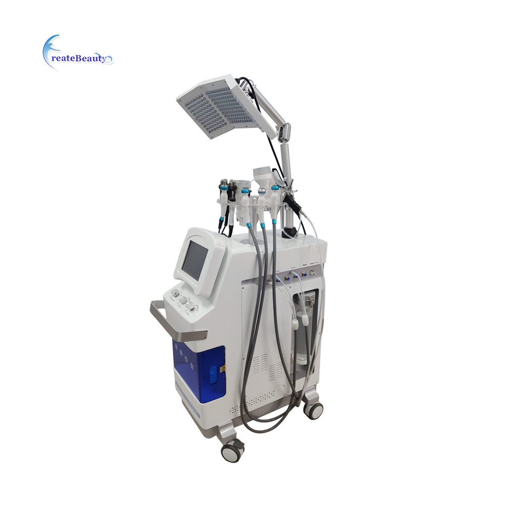 Face skin care oxygen facial mask device silk peel machine hydro dermabrasion фото