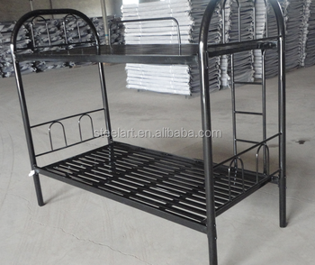 Wholesale Cheap Price Army Surplus Bunk Beds Steel Up Down Beds For